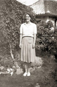 Emmie at  'Beverley' - August 1943