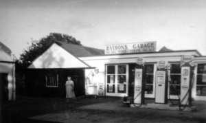 Evisons Garage 1940s