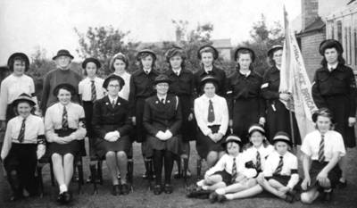 Girls' Life Brigade - Chapel St Leonards c.1944