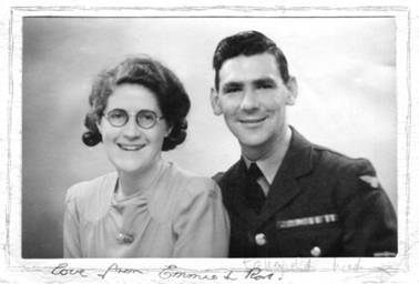 Ron and Emmie reunited, 1945
